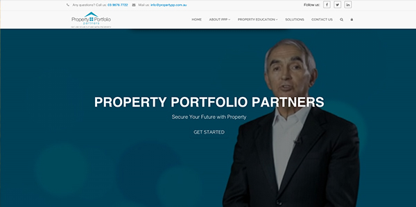 Melbourne property web site